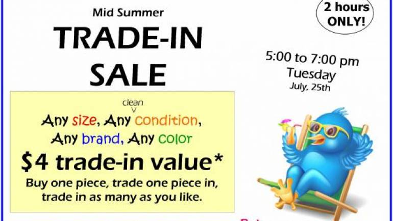 MID SUMMER TRADE-IN SALE!!!