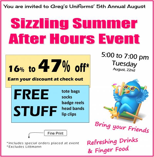AUGUST SIZZLING SUMMER SALE!!!