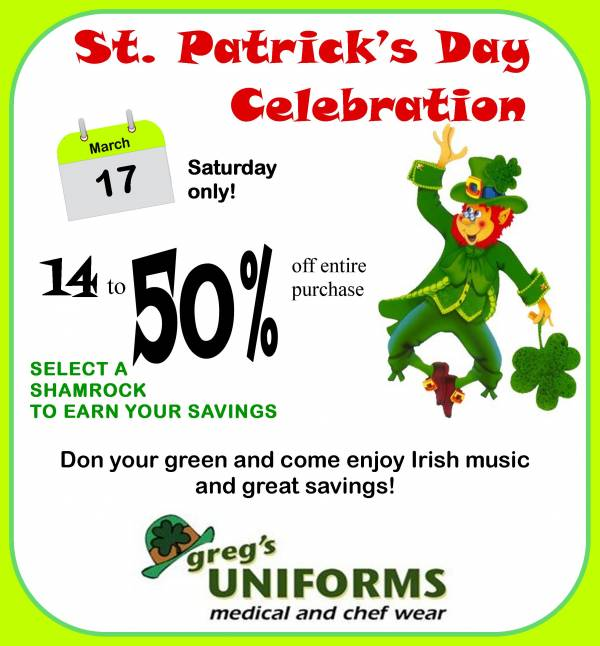Is the Luck o' the Irish with you?