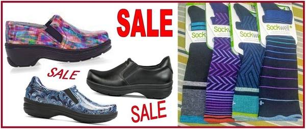 GREG'S ANNUAL SHOE & SOCK SALE!!!