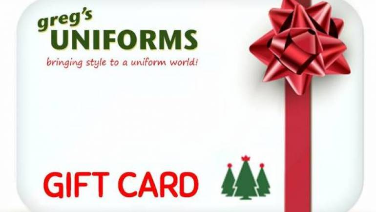 GIFT CARDS – Always the perfect size & color!
