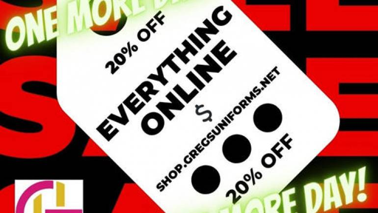 CYBER MONDAY!  ONLINE ONLY!