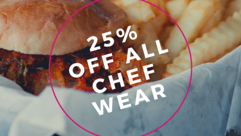 CHEF'S WEEK – SALE